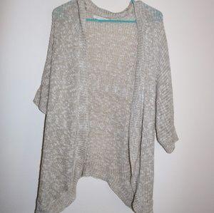 Organic Short sleeve cardigan